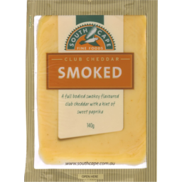 Photo of South Cape Smoked Club Cheddar 140gm