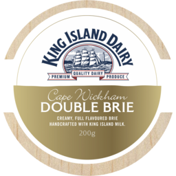 Photo of King Island Dairy Cape Wickham Brie 200g