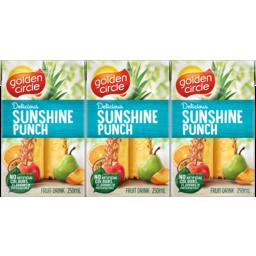 Photo of Golden Circle Sunshine Punch Juice 250mL 6 Pack