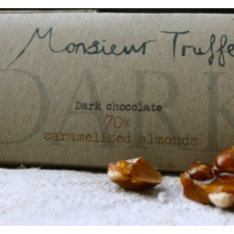 Photo of Monsieur Truffe 70% Dark Chocolate w Caramelised Almond