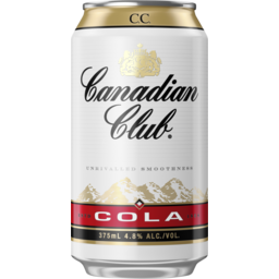Photo of Canadian Club & Cola Can