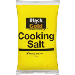 Photo of Black & Gold Salt Cooking 2kg