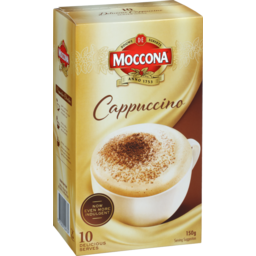 Photo of Moccona Coffee Sachets Cappuccino 10s 150g
