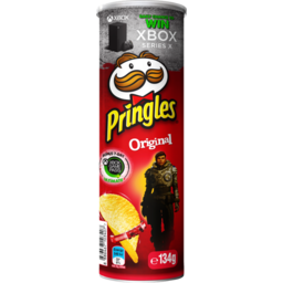 Photo of Pringles Original Potato Chips 134g