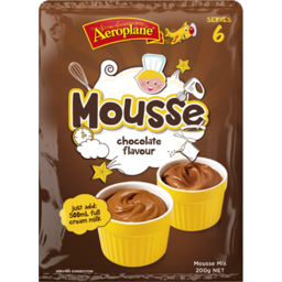 Photo of Aeroplane Chocolate Flavour Mousse Mix 65gm
