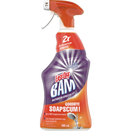 Photo of Easy-Off Bam Power Cleaner Soap Scum & Shine Bathroom Spray 500ml