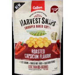 Photo of Harvest Snaps Chickpea Roasted Capsicum 75g