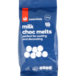 Photo of Homebrand Chocolate Melts 375g