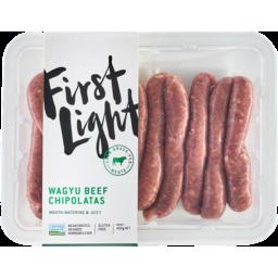 Photo of Firstlight Premium Wagyu Beef Chipolatas 400g