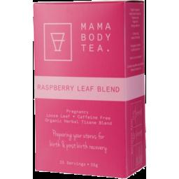 Photo of MAMA BODY TEA Raspberry Leaf Tea Bags