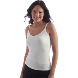 Photo of BOODY BAMBOO Bamboo Cami Top White S