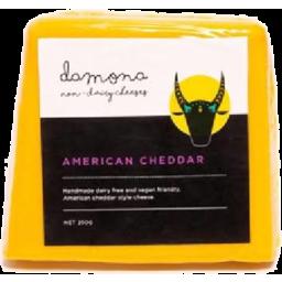 Photo of Damona Non Dairy American Cheddar 250g