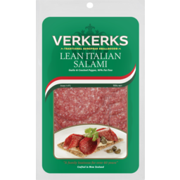 Photo of Verkerks Salami Lean Italian 100g