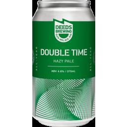 Photo of Deeds Double Time Hazy 4pk