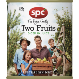 Photo of Spc Two Fruits In Juice 825g