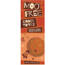 Photo of MOO FREE:MF Chocolate Bar Cinder Toffee 80g
