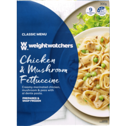 Photo of Weight Watchers Creamy Chicken & Mushroom Fettucine 300g