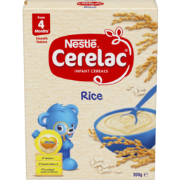 Photo of Nestle Cerelac Infant Cereal Rice With Probiotics 4-6 Months Stage 1g
