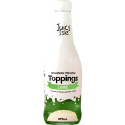 Photo of Juicy Isle Topping Lime 375mL