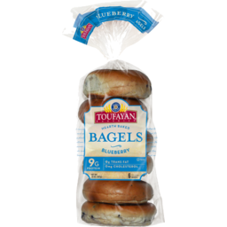 Photo of Toufayan Blueberry Bagels