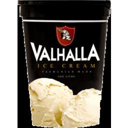 Photo of Valhalla Ice Cream Vanilla 1L