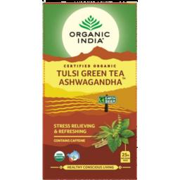 Photo of Organic India - Tulsi Ashwagandha Green - 25 Bags
