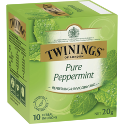 Photo of Twinings Herbal Infusions Bags Pure Peppermint 10 Pack 20g