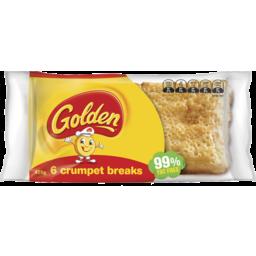 Photo of Golden Crumpet Breaks 6pk 425g