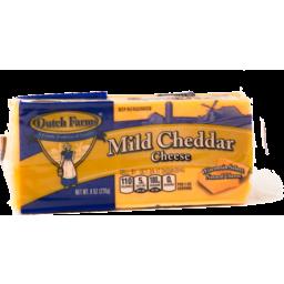Photo of Dutch Farm Mild Cheddar Fancy Cheese