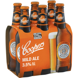 Photo of Coopers Mild Ale Stubbie 6 Pack