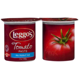 Photo of Leggos Tomato Paste No Added Salt 2 X 140gm