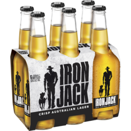 Photo of Iron Jack Crisp Australian Lager Stubbies