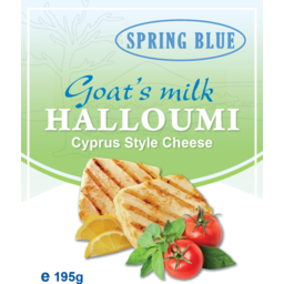 Photo of Spring Blue Cyprus Goat Halloumi 195g