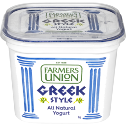 Photo of Farmers Union Greek Style All Natural Yogurt 1kg