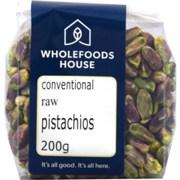 Photo of Wholefoods House Pistachio Nuts Raw CONV 200g
