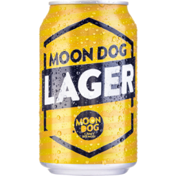 Photo of Moon Dog Lager Can