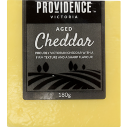 Photo of Providence Aged Cheddar 180g