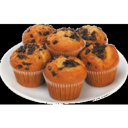 Photo of Muffins Orange Choc Chip 6 Pack