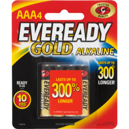 Photo of Eveready Gold Alkaline Batteries Aaa 4pk