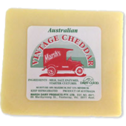 Photo of Marsh's Vintage Cheese R/W