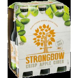 Photo of Strongbow Crisp Apple Cider 6 X 355ml Bottles
