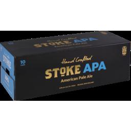Photo of Stoke Beer American Pale Ale 10 Pack X 330ml