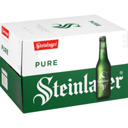 Photo of Steinlager Pure 330ml Bottles 24 Pack