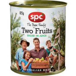 Photo of Spc Diced Two Fruits In Juice 825g