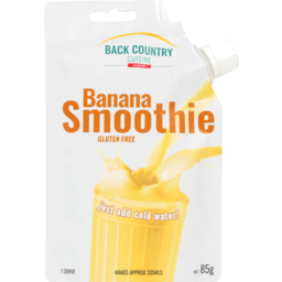 Photo of Back Country Cuisine Smoothie Banana Gluten Free One Serve 85g