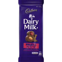 Photo of Cadbury Fruit & Nut 200g