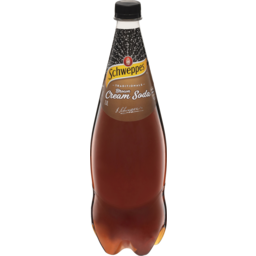 Photo of Schweppes Traditionals Brown Cream Soda 1.1l