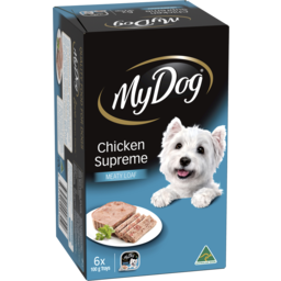 Photo of My Dog Wet Dog Food Chicken Supreme Meaty Loaf 6x100g Trays
