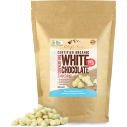 Photo of Chefs Choice - White Chocolate Drops - 300g