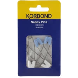 Photo of Korbond Nappy Pins 4pk